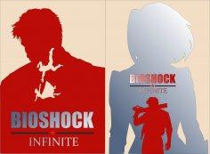 Bioshock Infinite Elizabeth Poster Vector CDR File