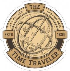 Time Traveler Sticker CDR File