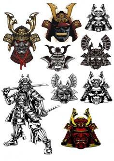 Samurai Print CDR File