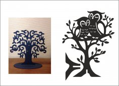Owl Jewellery Tree – Hanger CDR File
