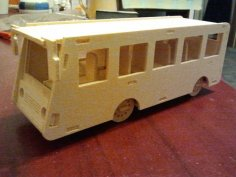 Bus Laser Cut PDF File