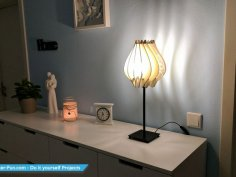 Lamp Laser Cutting Free Vector