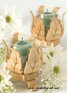 Decorative Foliage Votive Holder PDF File