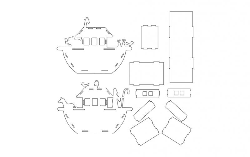 Noahs Ark dxf File