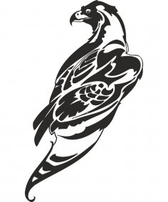 Hawk Vector Art CDR File