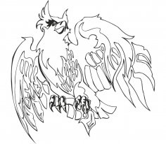 Eagle Illustrations Vector CDR File