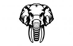 Elephant dxf File