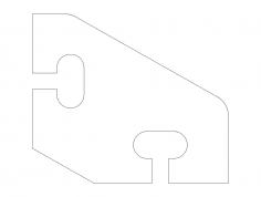 diagonal-brace-47×37.5 dxf File