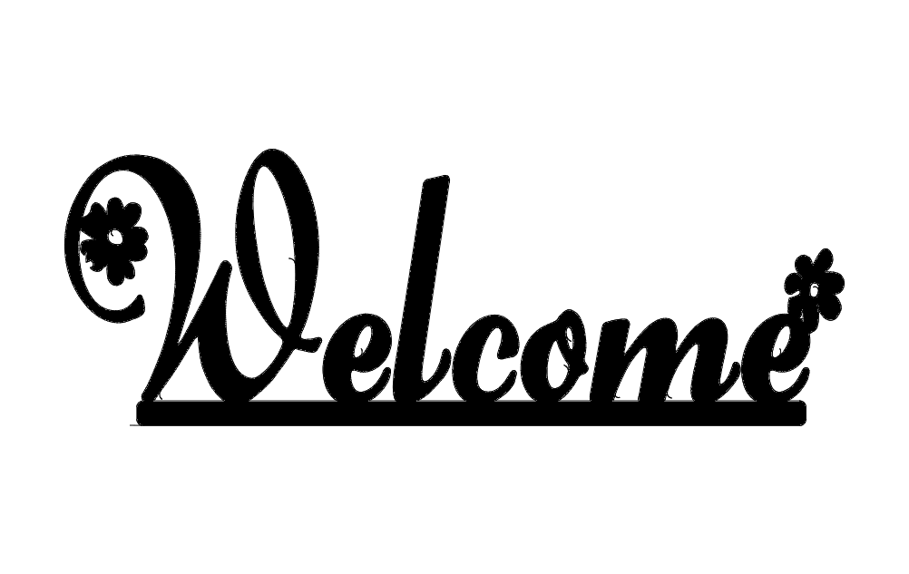 Welcome Daisy dxf File