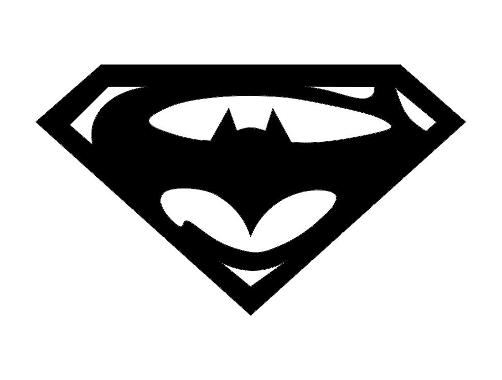 Super bat dxf File