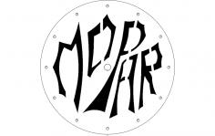 Jasons Clock Df dxf File