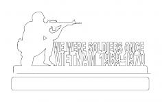 Vietnam 69-70 dxf File