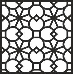 Decorative Panel Design Free Vector