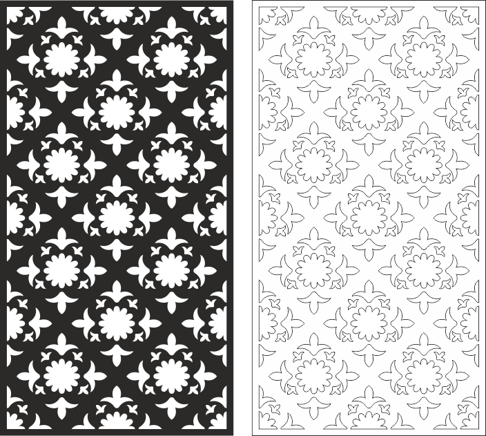 Vintage Seamless Pattern CDR File