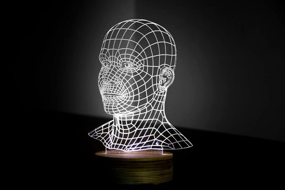 3D Night Light Free Vector