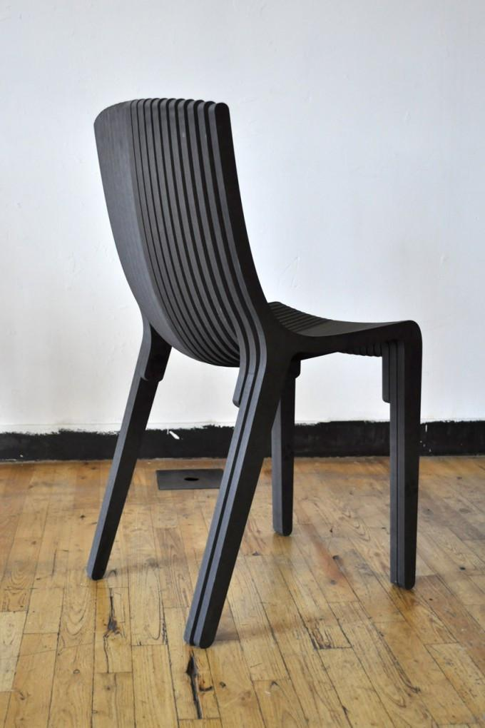 Layer Chair DXF File