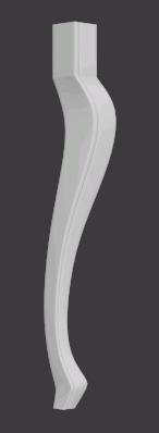 Leg 3D Model STL format file Artcam stl File