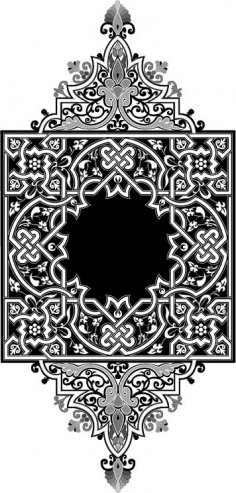 Islamic Art Design Free Vector
