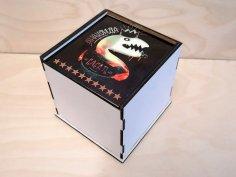 Laser Cut Mug Box Free Vector
