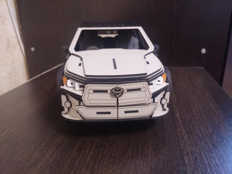 Laser Cut Toyota Hilux 3D Cutting Hdf 2 5mm Free Vector