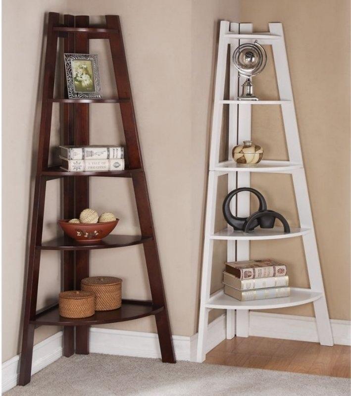 Laser Cut Standing Corner Shelves Template Free Vector