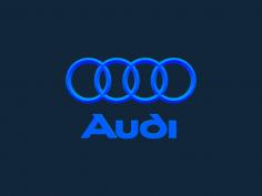 Audi Logo stl file