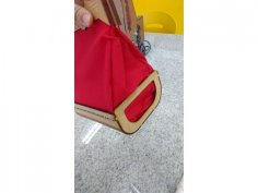 Laser Cut Bag Template Free Vector
