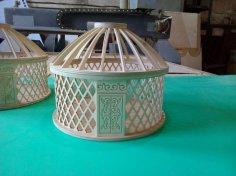 Yurt Box DXF File