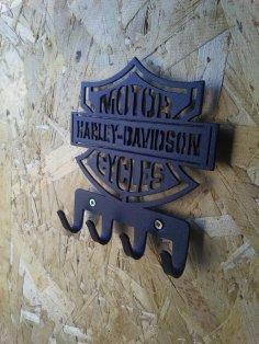 Plasma Cut Harley-Davidson Hanger DXF File