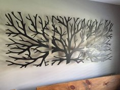 Laser Cut Tree Of Life Wall Decor 3 Pieces Free Vector