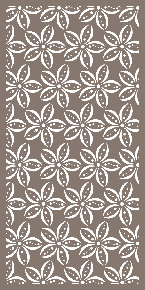 Screen Printing Stencils Pattern Vector Free Vector