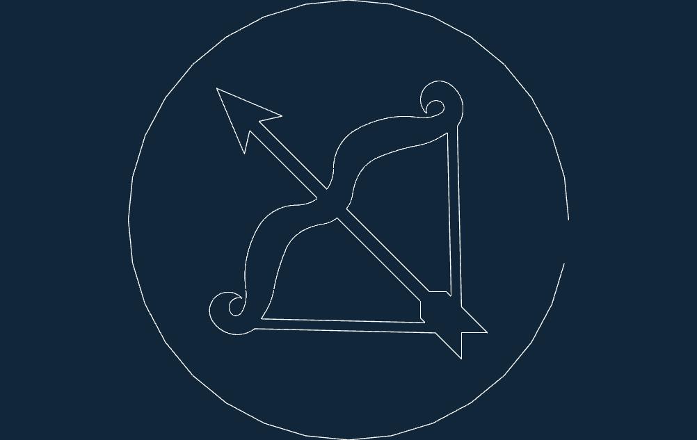 strelec DXF file