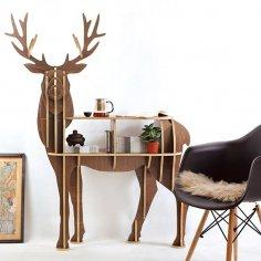 Olen (Deer) v11 dxf File