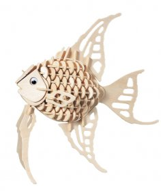 Angel Fish dxf File