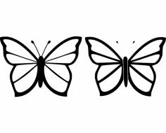 Butterfly 26 dxf File