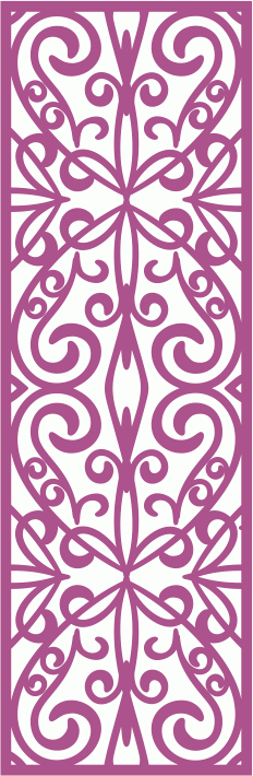 Laser Cut Vector Panel Seamless 161