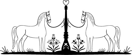 Horses Free Vector