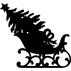Sleigh dxf File