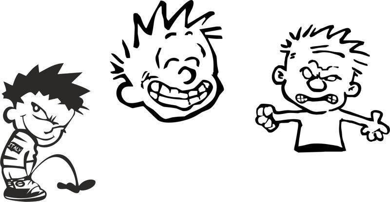 Calvin Sticker