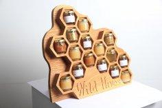 Farmer's Market Honey Display dxf File