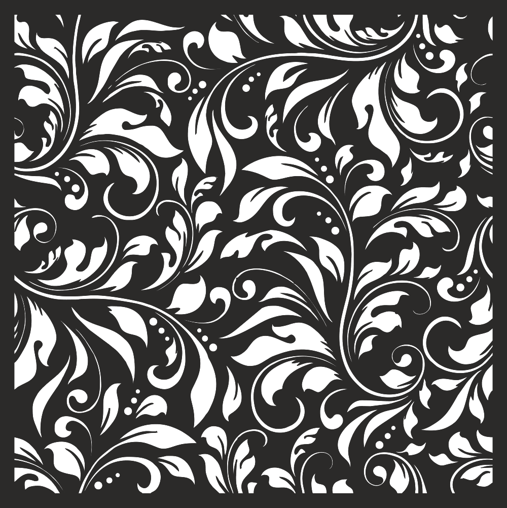 Damask Floral Vector Seamless Pattern Free Vector