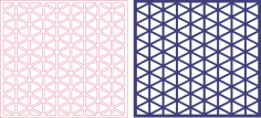 Jali Screen Pattern DXF File