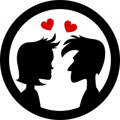 Couple Love Free Vector