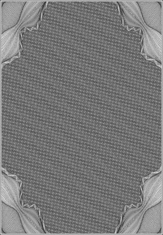 Guilloche Vector Pattern Free Vector