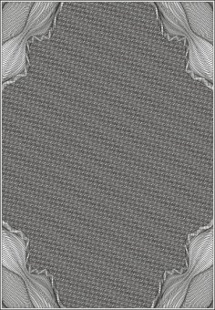 Guilloche Vector Pattern CDR File