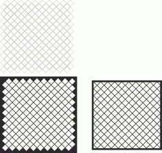 Decorative Screen Panel Pattern Free Vector