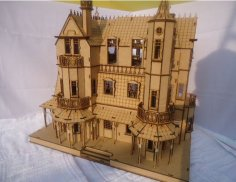 Baskerville Hall DXF File