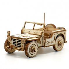 Jeep Laser Cut Free Vector