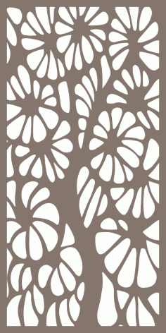 Decorative Panel Pattern Vector Free Vector