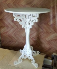 Laser Cut Furniture Coffee Table Home Decor Free Vector